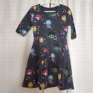 Girls Marvel Avengers dress